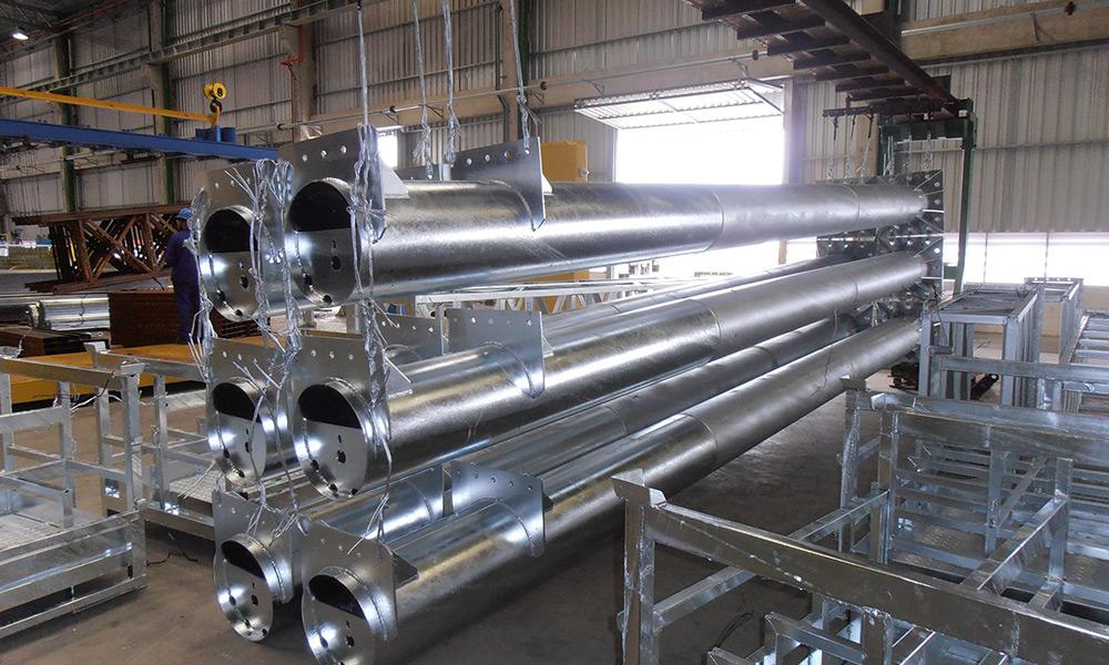 Vasca Da Bagno Di Zinco : Impianti di zincatura a caldo sirio